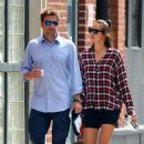 Irina Shayk and Bradley Cooper – Out in New York City
