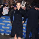 "Natalie Portman Arrives At The ""Late Show With David Letterman"" Taping At The Ed Sullivan Theater In New York City 2008-02-27"