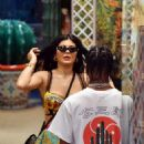 Kylie Jenner – Out and about in Capri