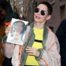 Rose McGowan at The View in NYC - 454 x 644