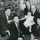 Edith Green and her family, in 1957 - 400 x 357
