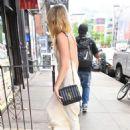 Amber Heard at Emilio's Ballato in New York