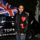 Chris Brown:  Topshop Topman LA Opening Party at Cecconi's