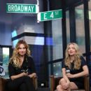 Amanda Seyfried and Lily James – Visit AOL Build Series in NYC - 454 x 463