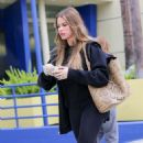 Sofia Vergara In Leggings Out In Santa Monica