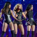 BEYONCE Performs at the Super Bowl Halftime Show in New Orleans