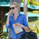 Charlize Theron In Jeans Out In Malibu