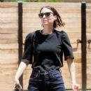 Rooney Mara – Leaves a salon in Los Angeles