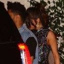 Selena Gomez and The Weeknd Leaving the Sunset Tower hotel in LA - 454 x 682