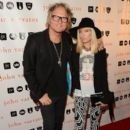 Matt Sorum & Ace Harper attend the John Varvatos 10 years in West Hollywood Celebration