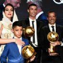 Georgina Rodriguez and Cristiano Ronaldo – Sport Globe Soccer Award 2019 – Decima Edizione in Dubai - 454 x 303
