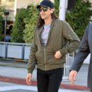 Adrien Brody spotted in Beverly Hills, California on February 14, 2017. Adrien was with a friend having lunch at Ebaldi restaurant - 364 x 600