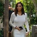 Kim Kardashian and sisters are seen filming their reality show with their mother in Woodland Hills, California on August 5, 2016