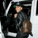 Meagan Good in Tights out in LA