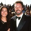 Karis Jagger Hunt and Tim Curry - 426 x 281