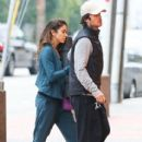 Nikki Reed & Ian Somerhalder arrive at yoga class together on December 30, 2014 in Studio City, Calif