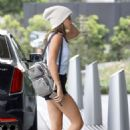 Sofia Richie in Shorts – Out in Beverly Hills