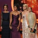 Minka Kelly, Annie Ilonzeh, Rachael Taylor, and Drew Barrymore at The 63rd Primetime Emmy Awards (2011) - 454 x 338