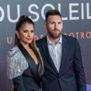 Lionel Messi and Antonella Rocuzzo- Cirque Du Soleil 'Kooza' Madrid Premiere - 400 x 600