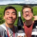 Conrad Ricamora and Joshua Cockream in France (June 16, 2018)