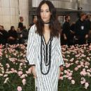 Maggie Q – Tory Burch Fashion Show FW 2018 in New York