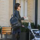 Jordana Brewster with her son Andrew in Los Angeles January 28, 2017 - 454 x 644