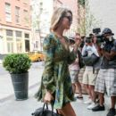 Rosie Huntington-Whiteley is seen in New York City