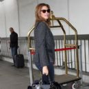 Cindy Crawford Arrives at LAX