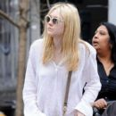 Dakota Fanning was spotted strolling around New York City, March 21