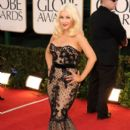Christina Aguilera At The 68th Annual Golden Globe Awards (2011)