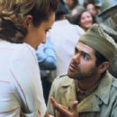Aurélie Eltvedt and Jamel Debbouze star in Rachid Bouchareb's DAYS OF GLORY (Indegénes). Photo by: Courtesy of The Weinstein Company, 2006/Roger Arpajou. - 454 x 302