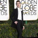 Evan Rachel Wood at The 74th Golden Globes Awards - arrivals - 417 x 600