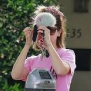 Ashley Tisdale – Heading to a Spa in Los Angeles - 454 x 681