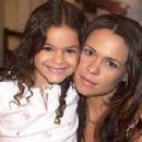 Bruna as a child