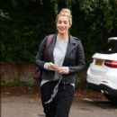 Gemma Atkinson – Arriving at Hits Radio in Manchester - 454 x 711
