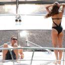 Polly Parsons - Bikini Photos in Dubai with Sid Owen