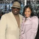 Cedric the Entertainer and Lorna Wells - 427 x 600