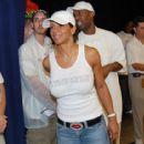 Gary Payton and Monique James