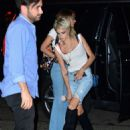 Cara Delevingne and Paris Jackson out in New York