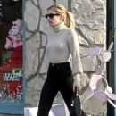 Emma Roberts – Christmas Shopping in Los Angeles