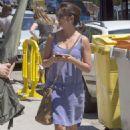 Penelope Cruz Filming Ma Ma Movie Set In Madrid