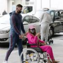 Katie Price – Is seen at the Chelsea and Westminster hospital - 454 x 518