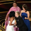 Regina King, Amy Poehler, Tina Fey and Maya Rudolph At The 91st Annual Academy Awards - Show