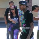 Blac Chyna and Tyga at Babies R Us in Calabasas - August 15, 2013 - 250 x 375