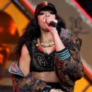 Rihanna performs at Barclaycard Wireless Festival at Hyde Park on July 8, 2012 in London, England