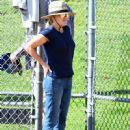 Reese Witherspoon spotted at her son's tee ball game in Brentwood Ca March 25th, 2017 - 450 x 600
