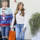 Sofia Vergara – Shopping at the Hermes store in Beverly Hills