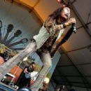 Steven Tyler performs onstage during Pilgrimage Music & Cultural Festival on September 27, 2015 in Franklin, Tennessee.