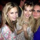 Georgia May Jagger, Suki Waterhouse and Cara Delevingne - 454 x 454