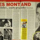 Yves Montand - Retro Magazine Pictorial [Poland] (June 2015) - 454 x 305